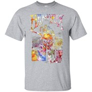 Jimi Hendrix Watercolor Hendrix – T-Shirt