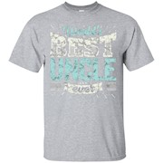 Mens Cool Uncles Gift T Shirt World's Best Uncle Ever Family Tee – T-Shirt