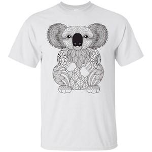 Koala Bear T-Shirt Love Animals Jungle Save Wild Life Safari