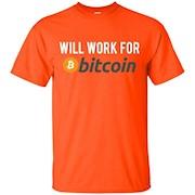 Men's Premium Quality Bitcoin T-Shirt