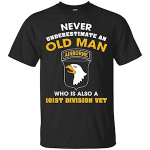 101st Airborne Division Veteran Tshirt – T-Shirt