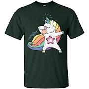 10th Birthday Shirt Birthday Girl 10 Unicorn T-Shirt June