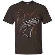 Active Bass Guitar Rock Music T-shirt Graphic Guitar Player – T-Shirt