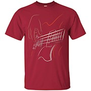 Active Bass Guitar Rock Music T-shirt Graphic Guitar Player – T-Shirt