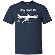 Aerospace Engineer Engineering Shirt – How Planes Fly – T-Shirt