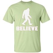 Bigfoot Sasquatch I Believe Tshirt – T-Shirt