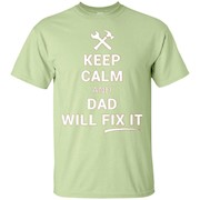 Dad Will Fix It Shirt Funny Handyman Tool Fathers Day Gift – T-Shirt