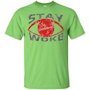 Distressed Stay Woke #STAYWOKE Eye t-shirt – T-Shirt