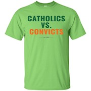 CATHOLICS VS. CONVICTS EST. 1988 T-SHIRT – T-Shirt