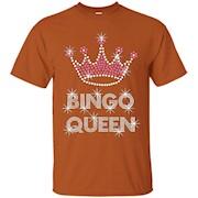Bingo T-shirts bingo queen shirt top – Unisex T-Shirt