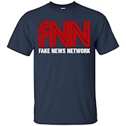 Fake News Network T-Shirt – Funny FNN Logo Humor Quote Tee