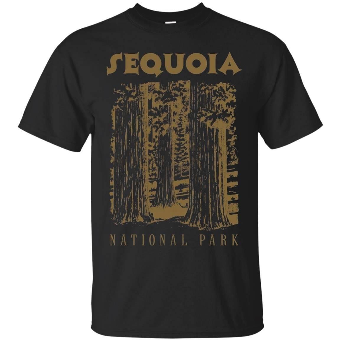 Sequoia National Park Tshirt I Love Hiking Wanderlust Tee – T-Shirt