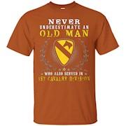1st Cavalry Division Tshirt – T-Shirt