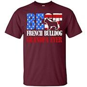 Best French Bulldog Grandpa Ever shirt – T-Shirt
