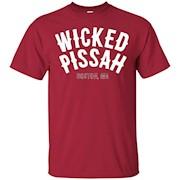 Boston Slang Wicked Pissah T-Shirt funny saying tee