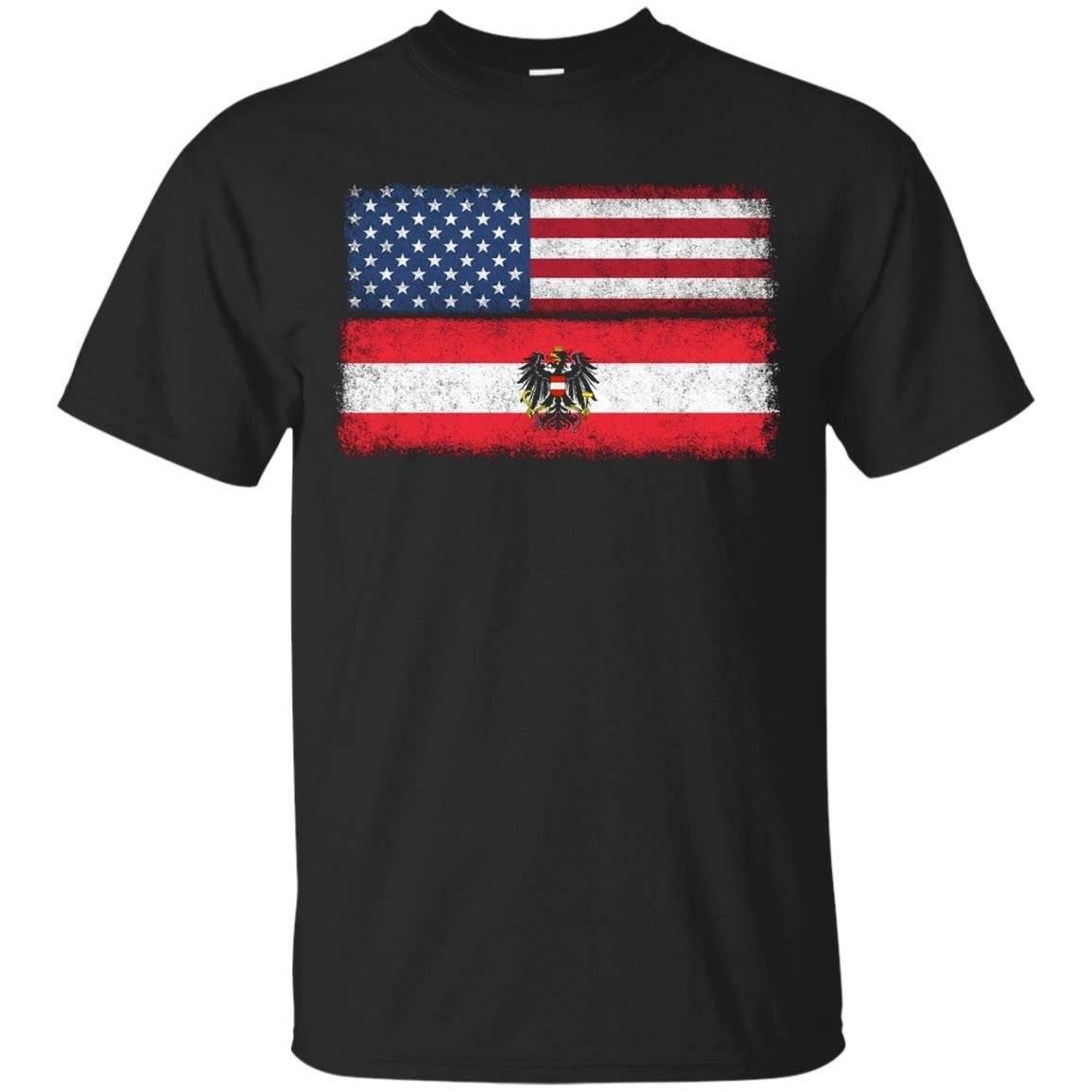 Austrian American Flag T-shirt Osterreich Pride Austria Tee – T-Shirt
