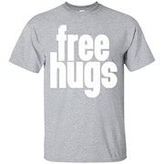Big Texas Free Hugs (White) T-Shirt