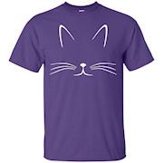 Cat Shirt – Cat Face Cat T-Shirt