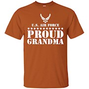 Gift Army Family – Proud Grandma U.S. Air Force T-shirt – T-Shirt