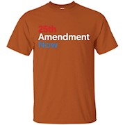 25th Amendment Now T-Shirt