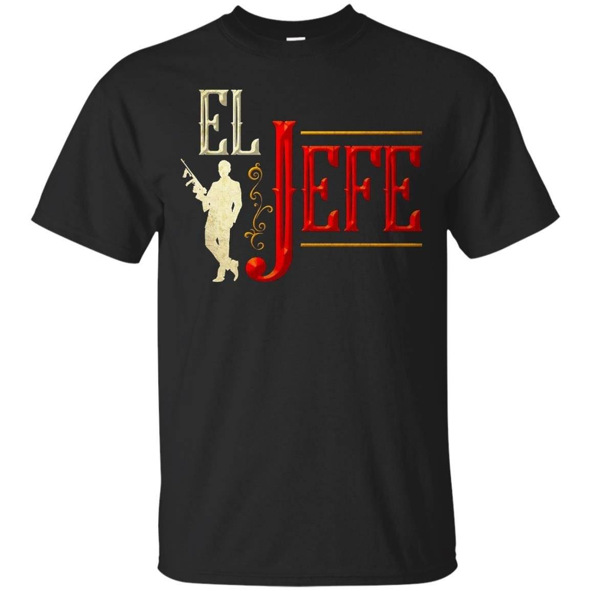 "Funny Mexican T-shirt ""EL JEFE"" – The Boss in Spanish – T-Shirt"