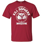 Caddyshack Licensed To Kill Gophers – T-Shirt