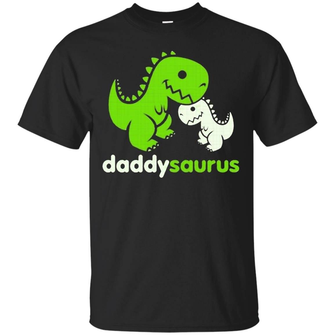 Daddy Saurus Funny Shirt – T-Shirt