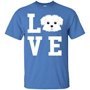 I Love My Dog Maltese Animal Lover T-Shirt