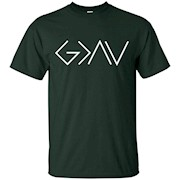 God is Greater Than Our Highs and Our Lows Know Him T-Shirt