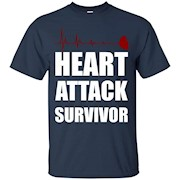 Heart Attack Survivor Tee – T-Shirt