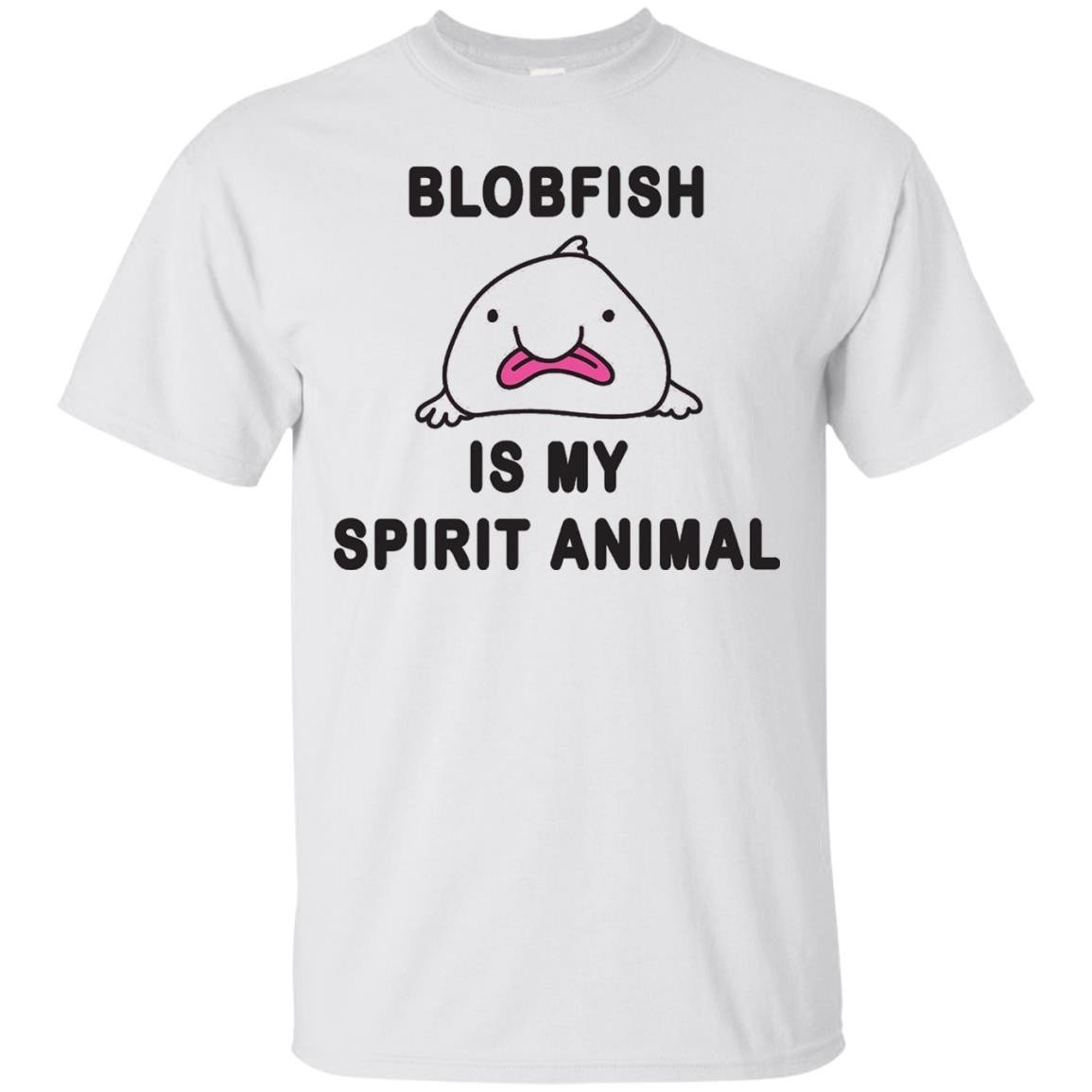 Meme Shirt Blobfish Is My Spirit Animal Tshirt – T-Shirt