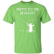 Mens Father's Day Fly Fishing Fly Guy Funny Shirt – T-Shirt