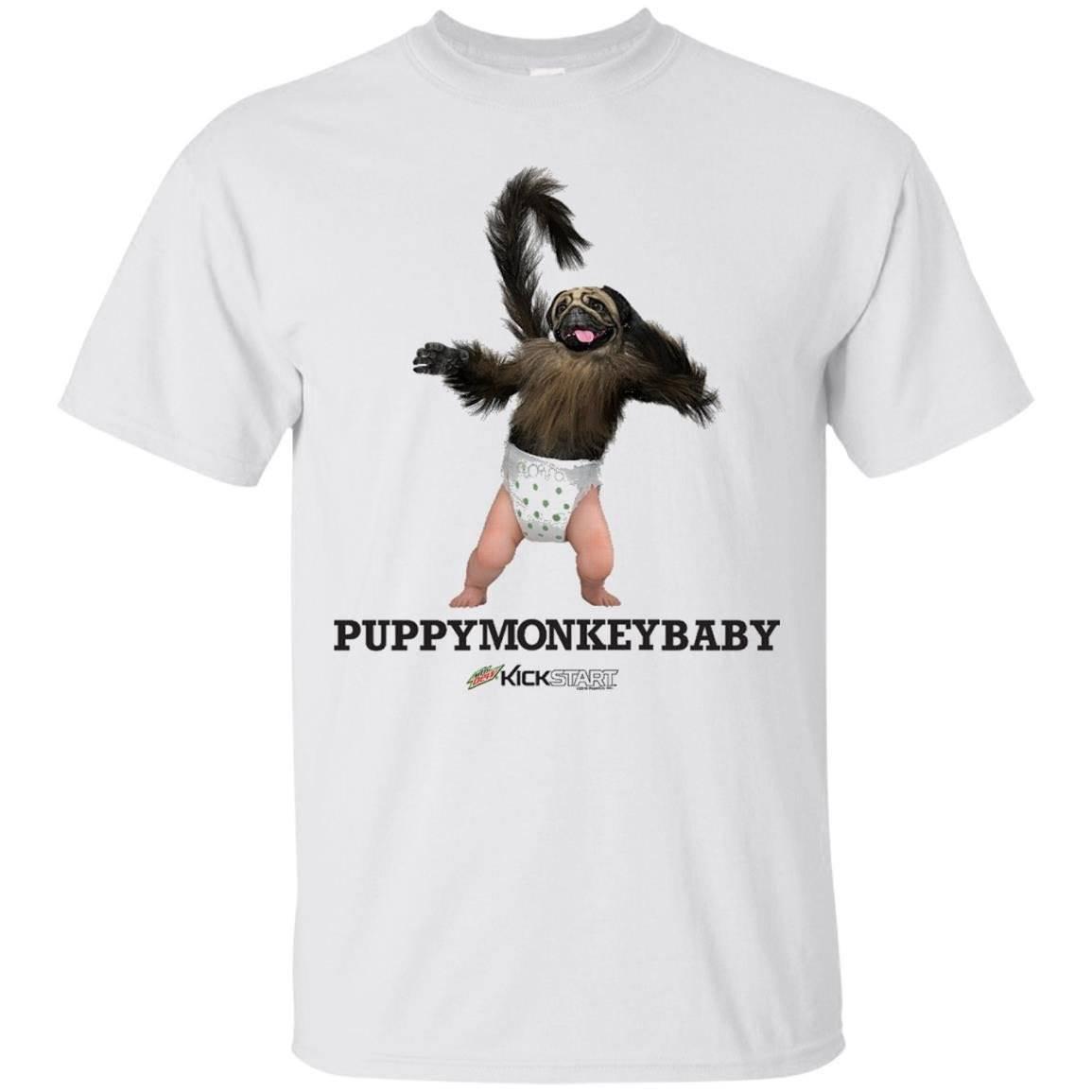 Mountain Dew PuppyMonkeyBaby T-Shirt #31516