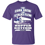 The Corn Grew The Stalks Flew Hopper Bottom Crew Grain TShir – T-Shirt