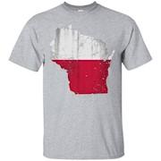 Wisconsin Polish American Heritage Poland Shirt – T-Shirt