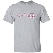 ER Nurse Shirt – ER Nurse Hearbeat T shirts – T-Shirt