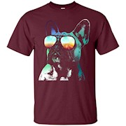 French Bulldog Neon Dog Shirt – T-Shirt
