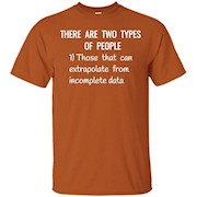 Funny Science Incomplete Data Analytics T shirt Nerdy Gift – T-Shirt