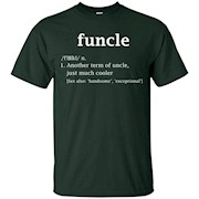 Funny Uncle Definition Special Gift For Your Uncle T Shirt – T-Shirt