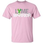 Lyme Warrior Shirt – Green Lyme Disease Ribbon – T-Shirt