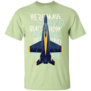 Persist Blue Angels Flying Pilot Planes Quote T-Shirt
