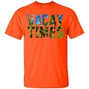 Vacay Times T-Shirt Hawaii Wedding Date Shirts
