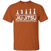Jiu Jitsu Training T-Shirt, Brazilian Jiu Jitsu Shirt, BJJ