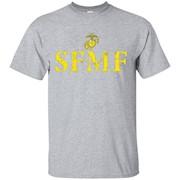 SFMF Semper Fi US Marines Tshirt – T-Shirt