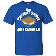 I Like Chocolate S'mores And I Cannot Lie Funny Camp T-Shirt