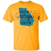Somebody in Georgia Loves Me State T-Shirt