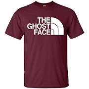The Ghost Face T-Shirt, Funny Ghost Shirt