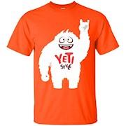 Yeti Style Shirt – ALL COLORS Mens Womens Kids Yeti Tshirt – T-Shirt