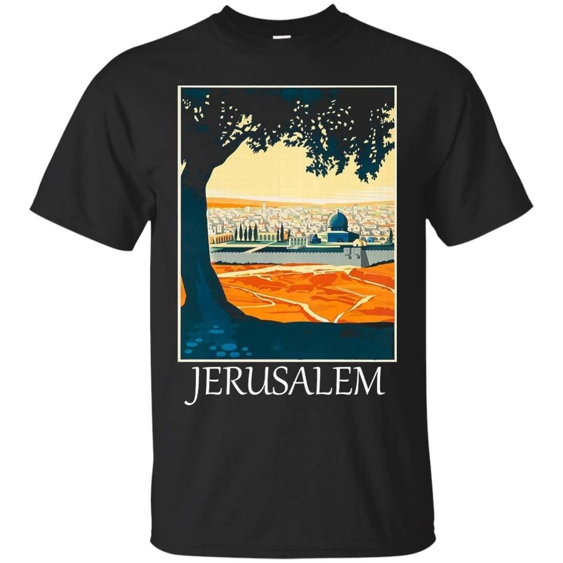 Jerusalem Israel T shirt Tshirt tee – T-Shirt