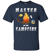 Master of the Campfire Shirt – Funny Camping Scout Tshirts – T-Shirt